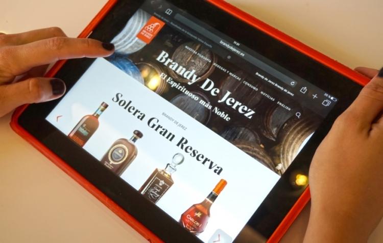 Nueva web para el Brandy de Jerez 1