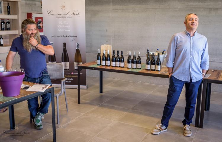 Luis Miguel Fernández y Raúl Pérez, presentación reciente en Valencia de su proyecto y vinos