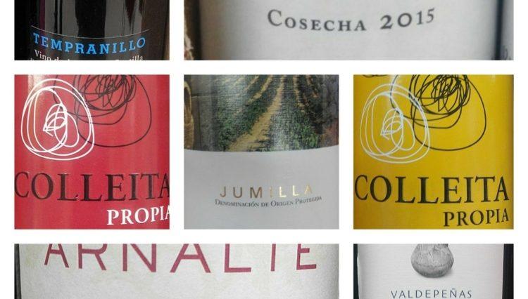 Cata de vinos low-cost del Eroski 1