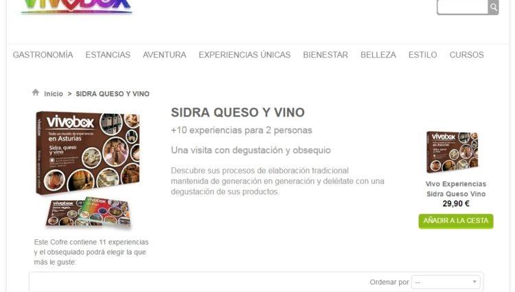 La empresa asturiana Vivobox añade experiencias gastronómicas a sus más de 300 turísticas en Asturias 1