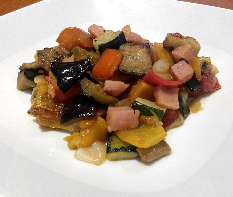Parrillada de verduras de verano 1
