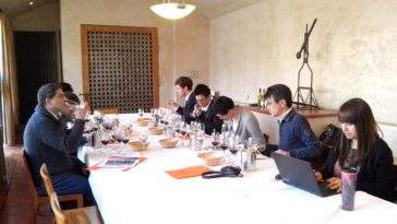 Sommeliers association of Japan visits Viña Concha y Toro 1