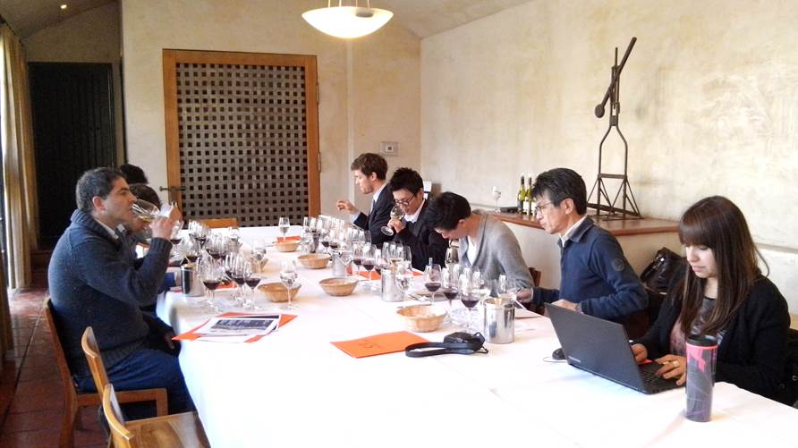 Sommeliers association of Japan visits Viña Concha y Toro 1