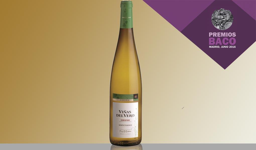 Viñas del Vero Gewürztraminer Colección gana el Baco de OroViñas del Vero Gewürztraminer Colección wins a Gold Bacchus 1