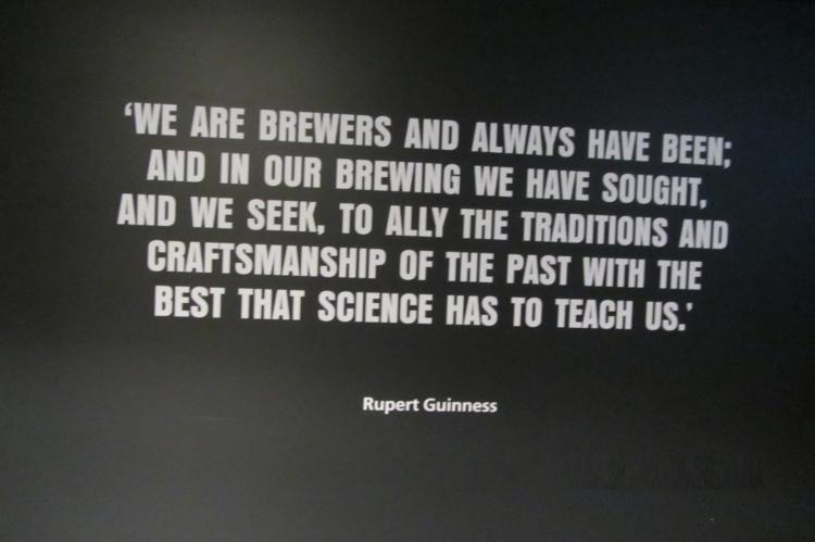 Visitamos la fábrica de Guinness en Dublín