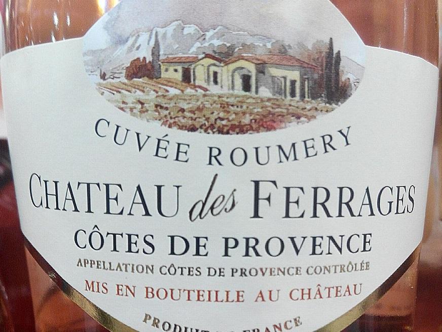 Catamos Chateau des Ferrages Cotes de Provence Cuvee Roumery Rose 2015 2