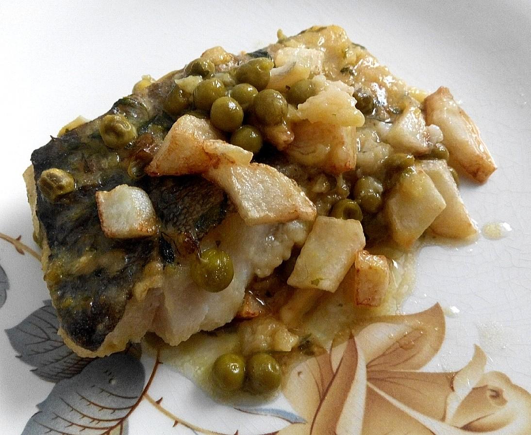 Bacalao en salsa de albariño 2