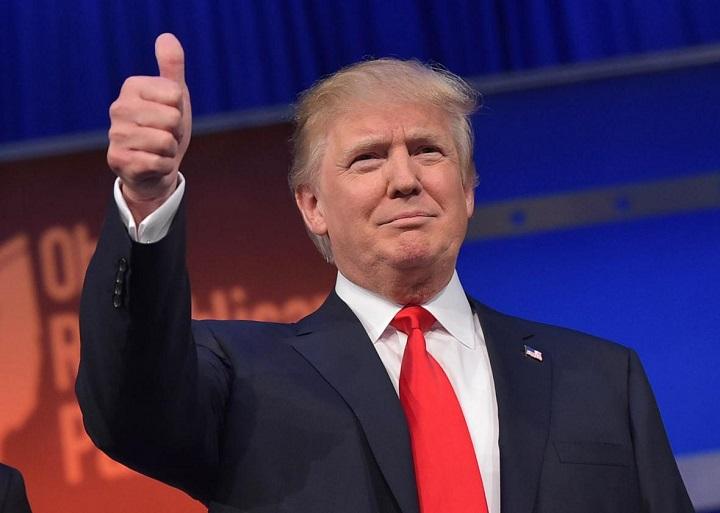 Donald Trump propone hamburguesas y patatas fritas para las cenas de estado 1