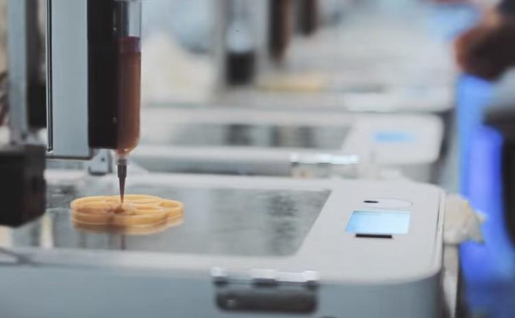 'FoodInk', primer restaurante del mundo con platos hechos con impresora 3D 1
