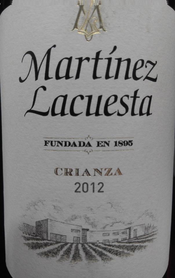 martinez lacuesta crianza 2012
