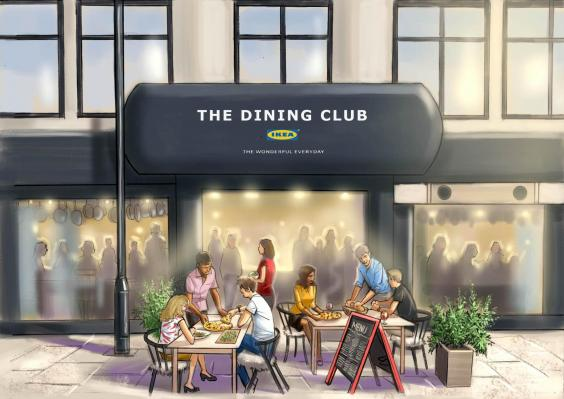 The Dining Club restaurante pop-up de IKEA en el que se come gratis pero cocinamos nosotros 1