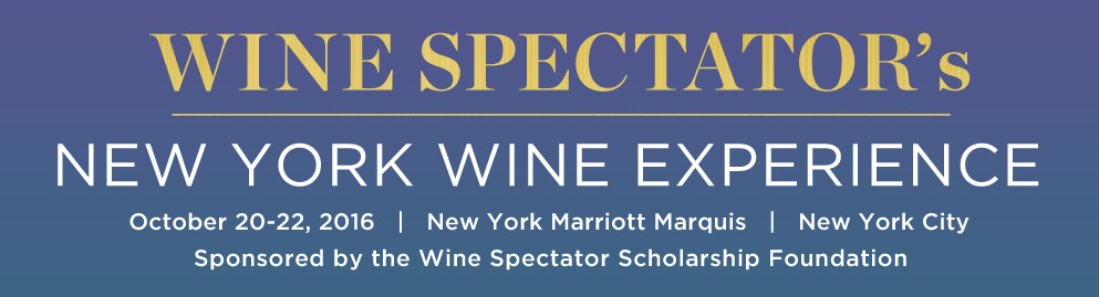 Ya hay fechas para la New York Wine Experience de Wine Spectator 1