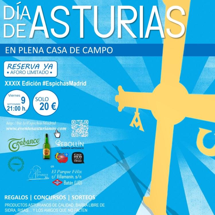 39ª edición de Espichas Madrid este viernes para celebrar el Día de Asturias 1