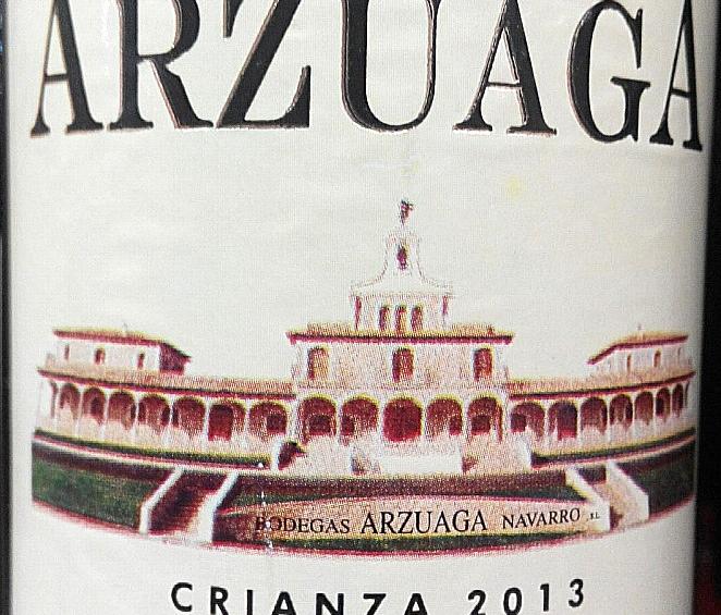 Catamos Arzuaga Crianza 2013 2