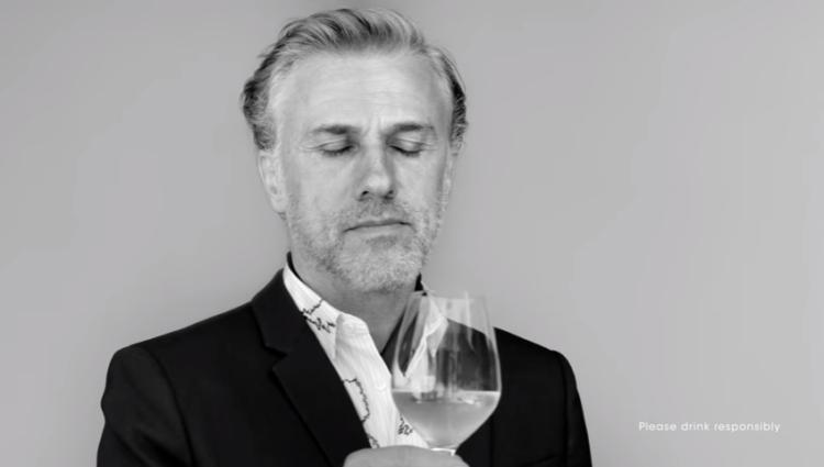 El oscarizazo Christopher Waltz es el protagonista de la campaña de Dom Pérignon para su champagne P2 1
