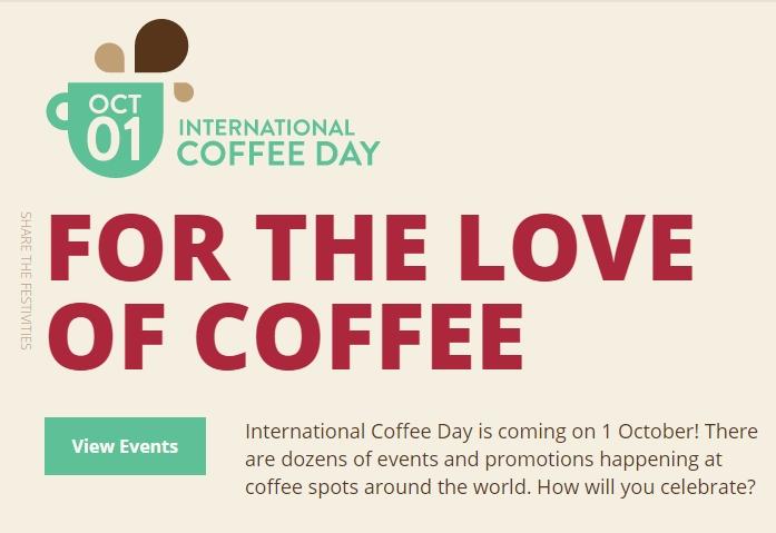 International Coffee Day 2016 1