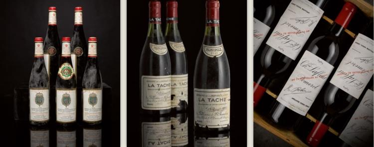 Muy buenos vinos en la primera subasta de invierno de Sotheby en LondresSotheby's first London fine wine sale of the winter season 1