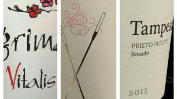 Cata de rosados elaborados con la varietal Prieto PicudoC 4