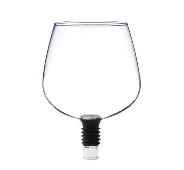 Guzzle Buddy, nuevo gadget para beber vino por copa pero directamente de la botella 3