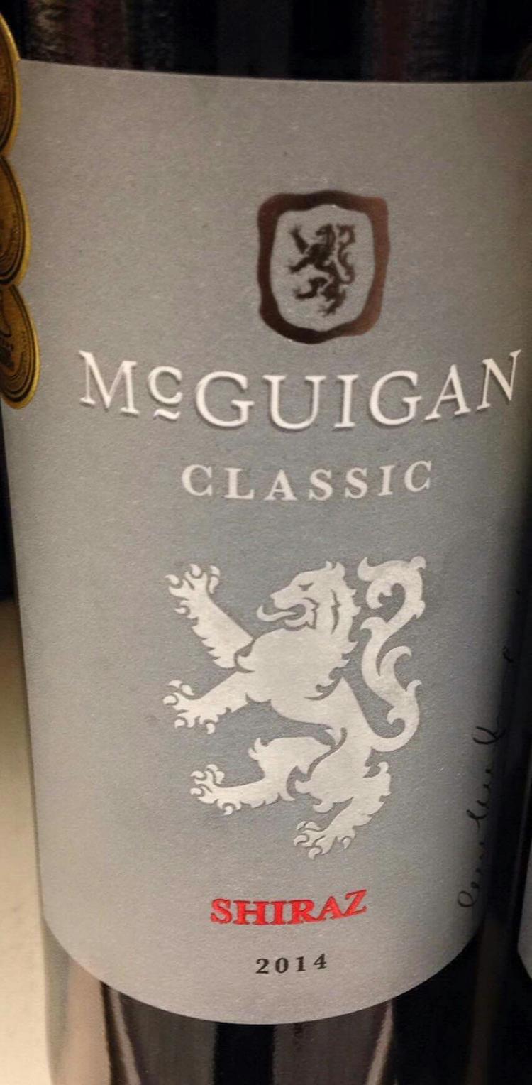 McGuigan Classic Shiraz 2014