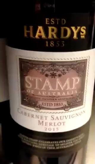 Catamos Hardys Stamp of Australia Cabernet Merlot 2015 1