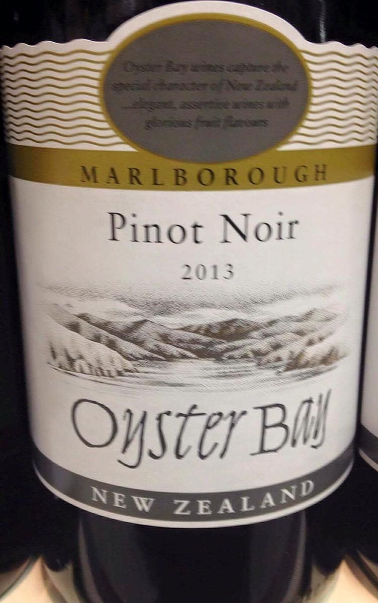 Catamos Oyster Bay Marlborough Pinot Noir 2013 1