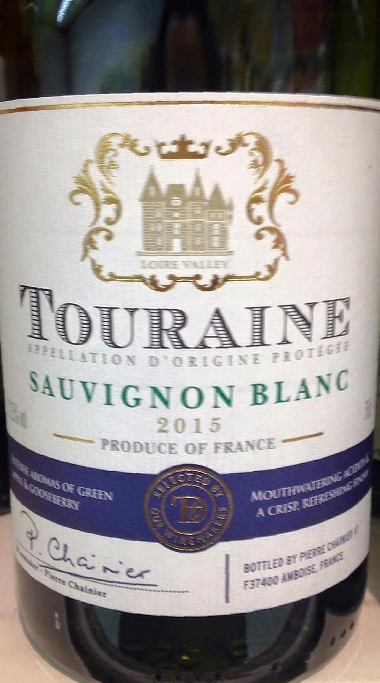 Catamos Touraine Sauvignon Blanc Taste the Difference 2015Cat 1
