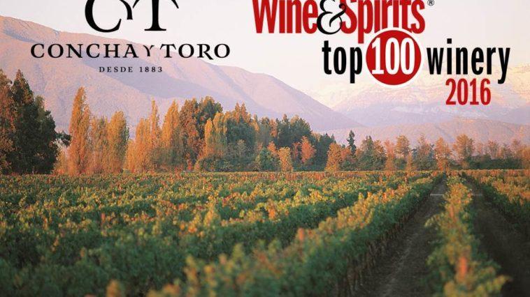 Concha y Toro entre las más premiadas del mundo como Viña del Año por Wine & Spirits 1