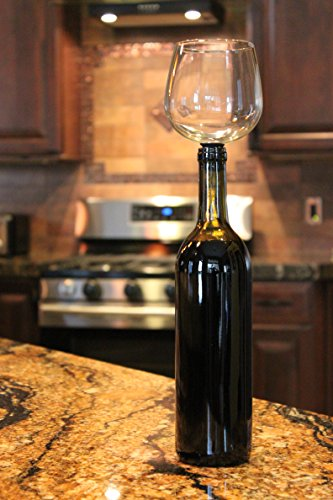 Guzzle Buddy, nuevo gadget para beber vino por copa pero directamente de la botella 1