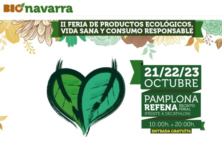 II BioNavarra, Feria de Productos Ecológicos, Vida Sana y Consumo Responsable 1
