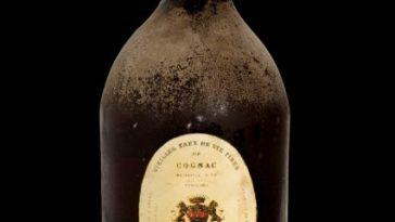 Una botella de Cognac Massougnes 1801 vendida por 245000 euros 1