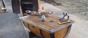 Mobiliario con barricas de vino, Barricas José Quijada 4