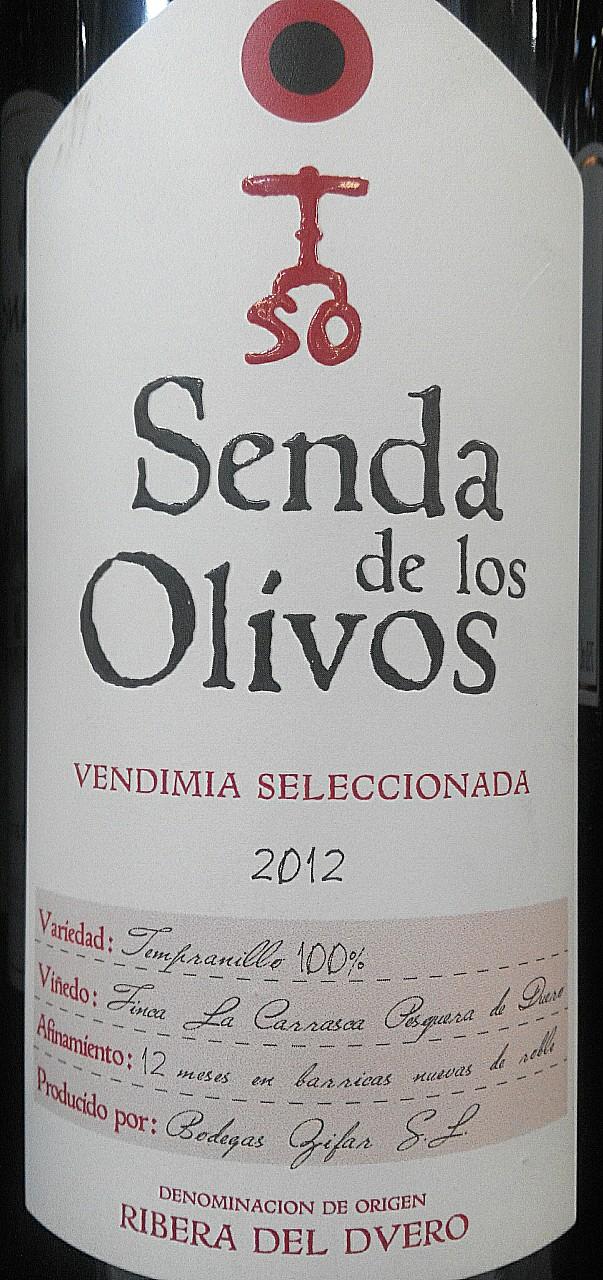 Catamos Senda de los Olivos Vendimia Seleccionada 2012 1
