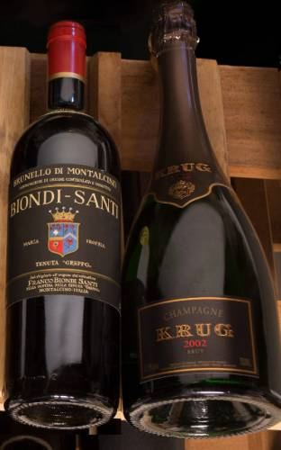 Champagne Brut 2012 Krug y Riserva Brunello di Montalcino 2010 Biondi Santi Tenuta Greppo únicos vinos con 100 puntos este año para Wine Enthusiast 1