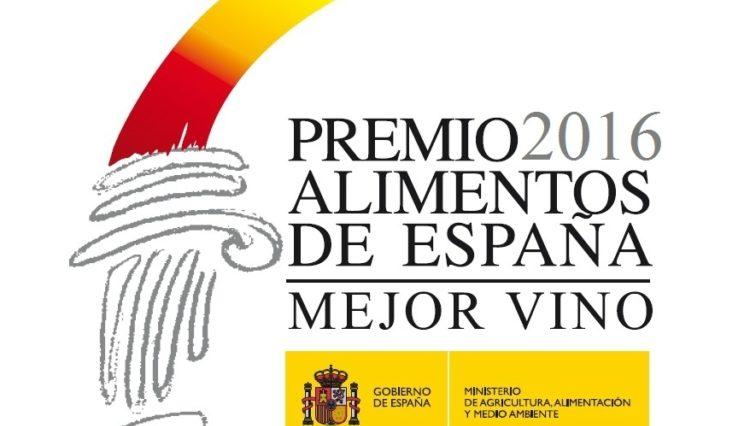 Premio Alimentos de España Mejor Vino 2016 1