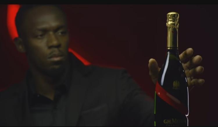 Usain Bolt nombrado CEO de GH Mumm