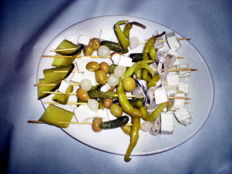 Cata de quesos leoneses Praizal maridados con vino Casis en el Bar Gastronómico La Somoza 3