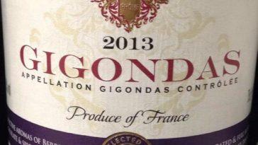 Catamos Gigondas 2013 Taste the Difference 1