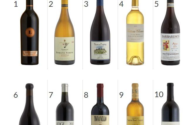 Top 10 de los mejores vinos del mundo en 2016 para Wine Spectator 1
