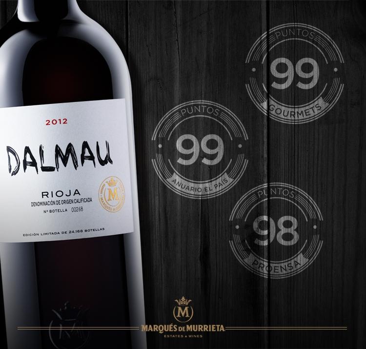 Dalmau 2012 de Marqués de Murrieta consigue las más altas puntuaciones en España 1