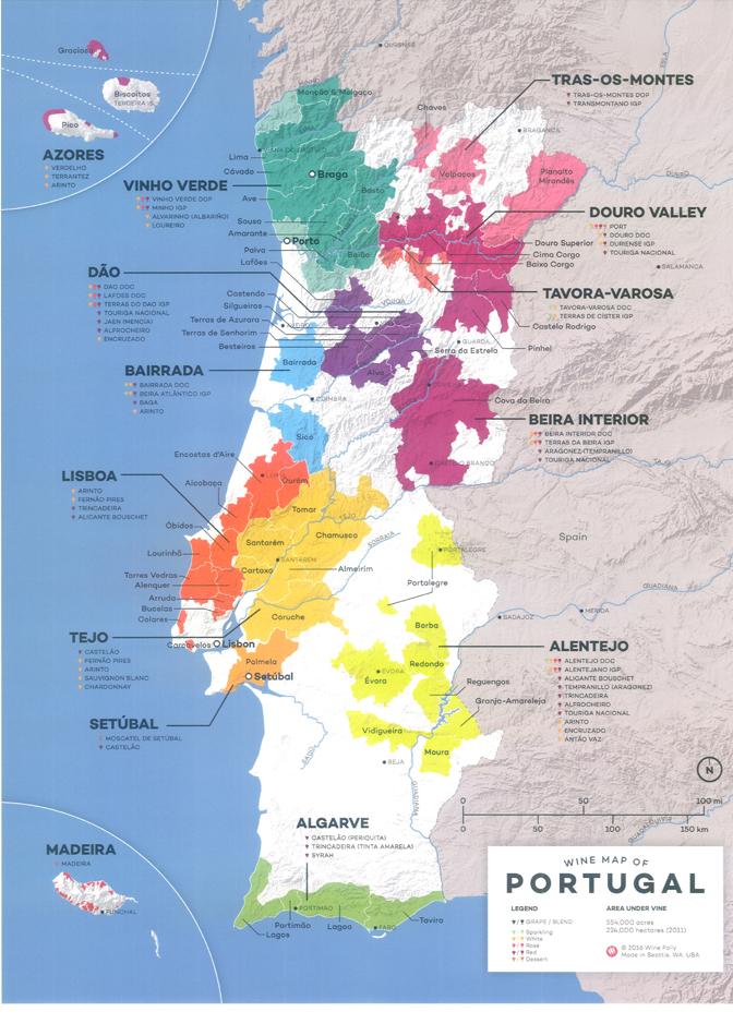 Nuevo mapa del vino en Portugal 1