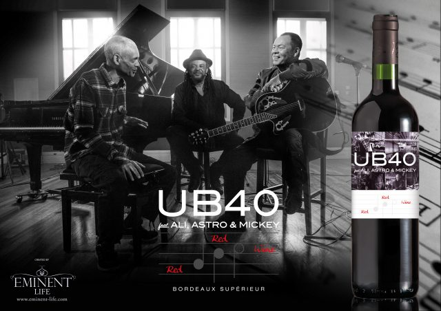 UB40 lanza Red Red Wine 1