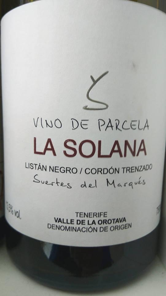 Catamos La Solana 2013 1