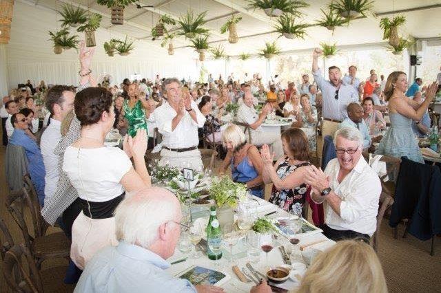Récord en la subasta benéfica anual de los vinos de El Cabo 1