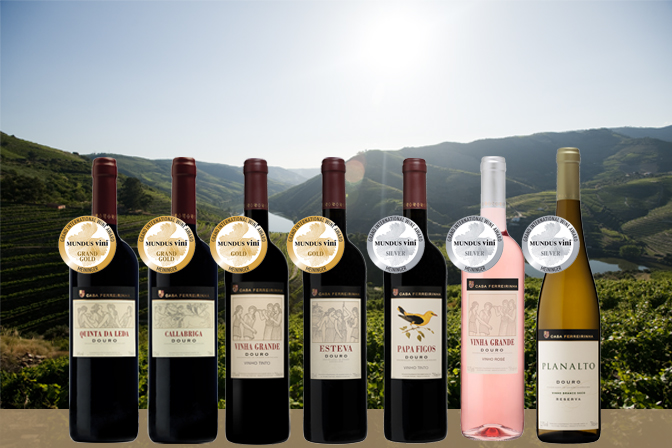 Casa Ferreirinha recibe siete premios en los Mundus Vini 2017 1