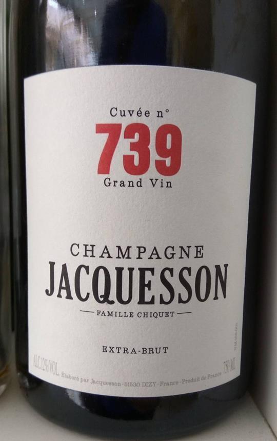 Catamos Jacquesson Cuvée 739 1
