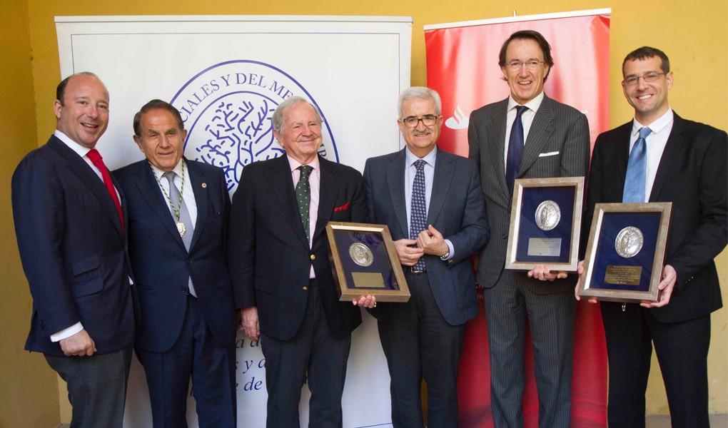 González Byass premiada por la Academia de Ciencias Sociales y del Medio Ambiente 2