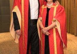 María José Sevilla y Pedro Ballesteros nombrados en Londres Caballeros de la Gran Orden del Vino 1