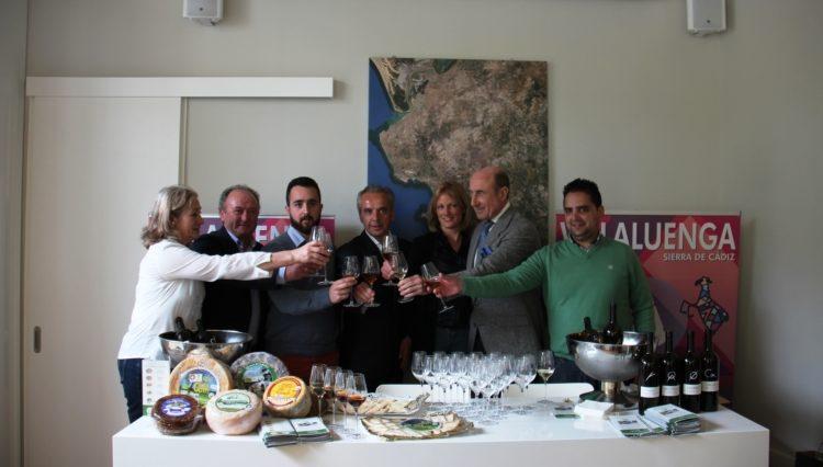 Maridaje de quesos de Villaluenga y vinos de Jerez en la firma de un acuerdo entre ambos 1