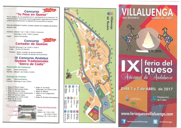 Mañana comienza la IX Feria del Queso Artesanal de Andalucía en Villaluenga del Rosario